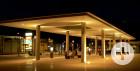 Nachtaufnahme des neuen Busbahnhofs von Kurt Glückler