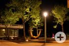 Neue Beleuchtung beim Busbahnhof / Postplatz - Aufnahme Kurt Glückler
