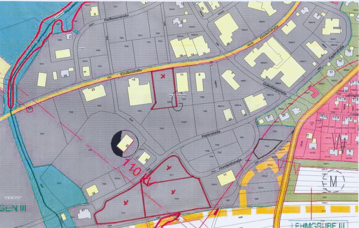 Gewerbegebiet Wangen II - Freie Gewerbeflächen