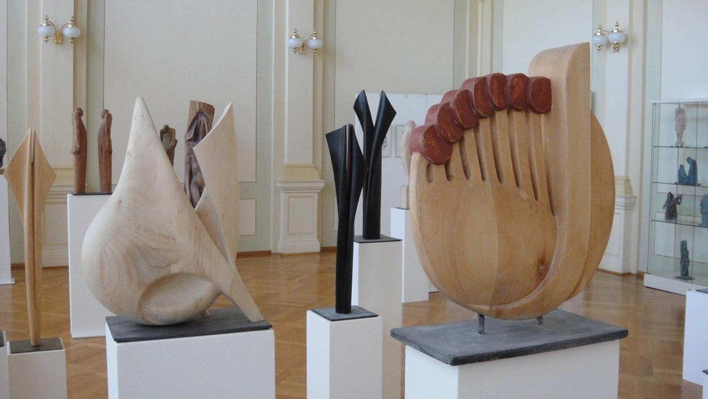 Gewerbemuseum - Festsaal während einer Ausstellung