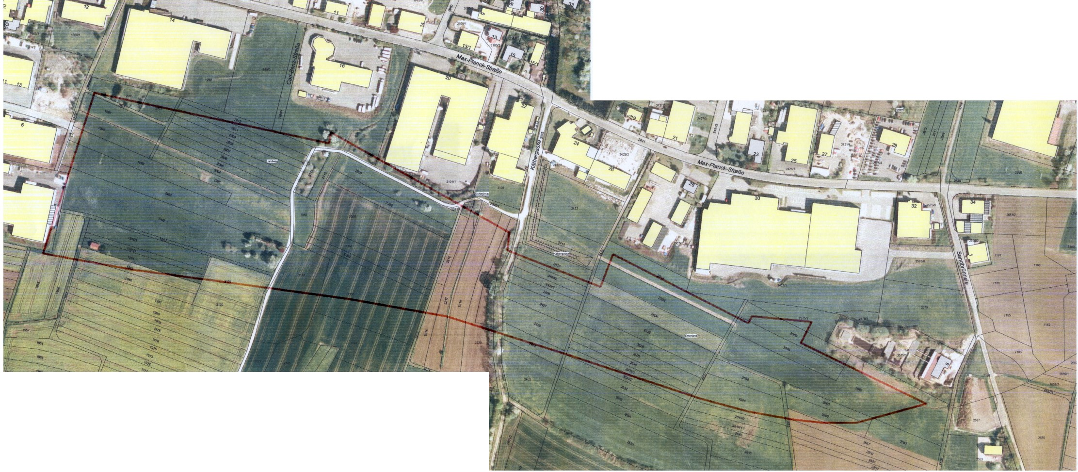 Luftbild Rudolf-Diesel-Straße