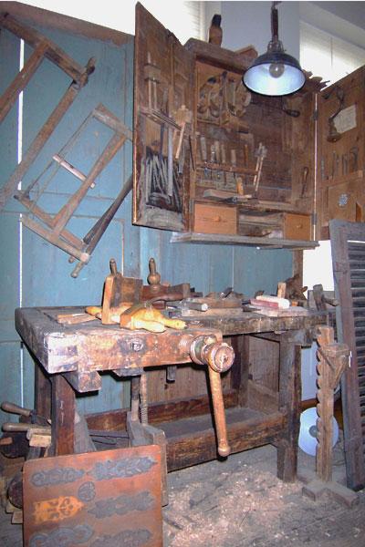 Historische Holzverarbeitung