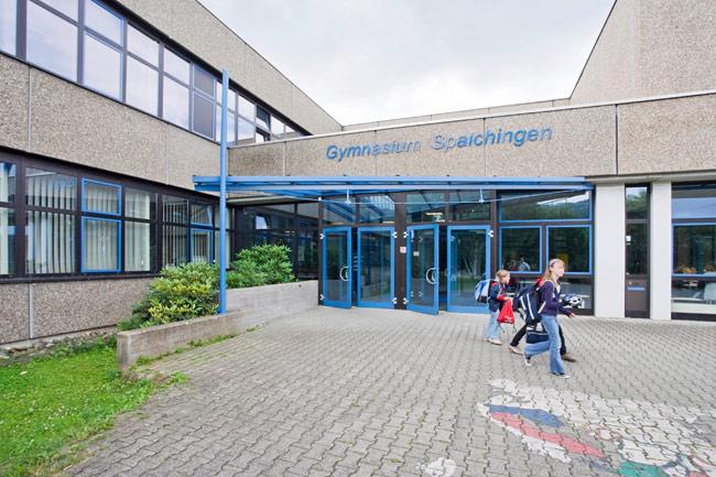 Das Gymnasium in Spaichingen