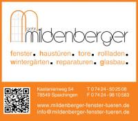 Mildenberger fenster.haustüren.tore GbR