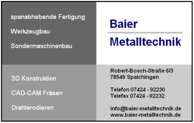 Baier Metalltechnik