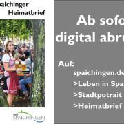Spaichinger Heimat in Bildern 2019