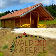 Neue Waldhütte für den Kindergarten Waldkaeferle
