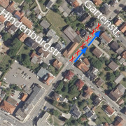 Dreifaltigkeitsbergstraße halbseitig gesperrt