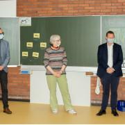 Gruppenfoto in der Lembergschule