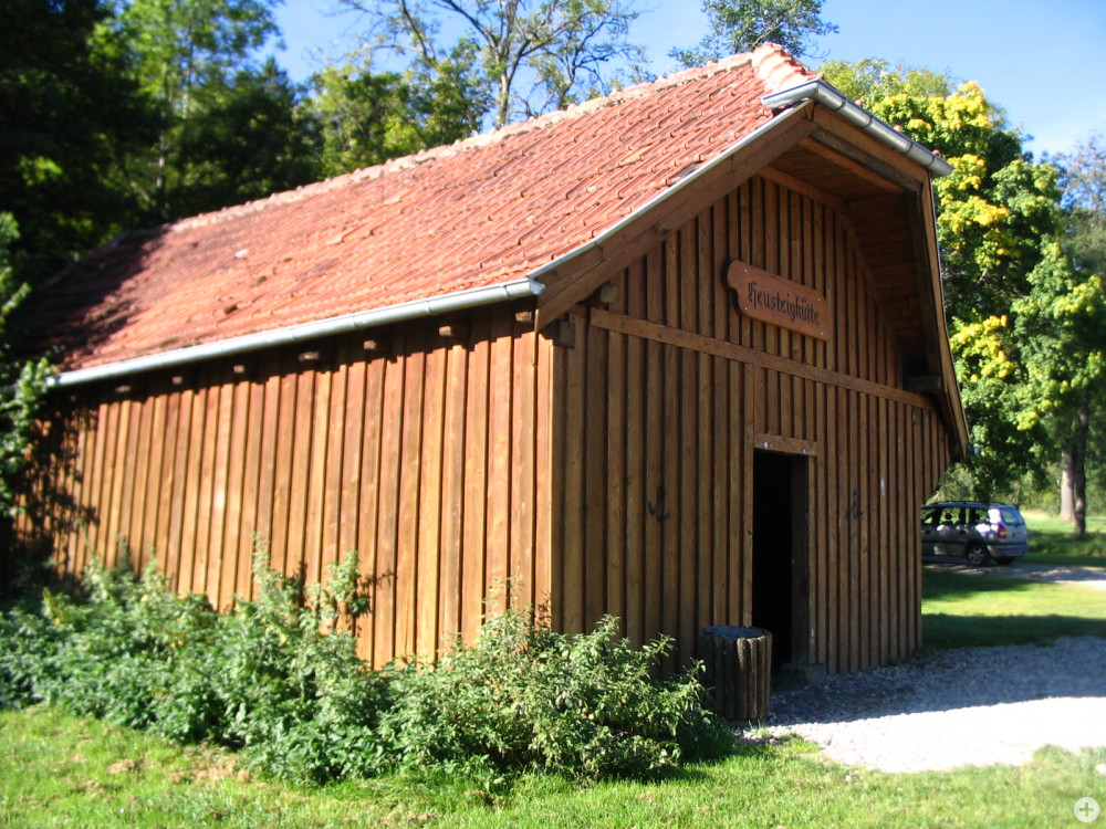 Grillplatz Viehweide - Wetterschutzhütte