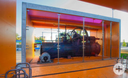 Historische Dampfmaschine