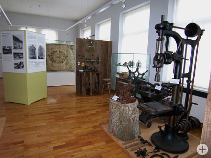 Historische Industriemaschine