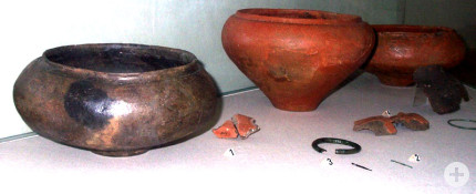 Archälogische Funde: Tongefässe