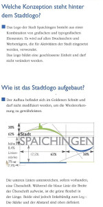 Stadtlogo Spaichingen - Aufbau und Beschreibung