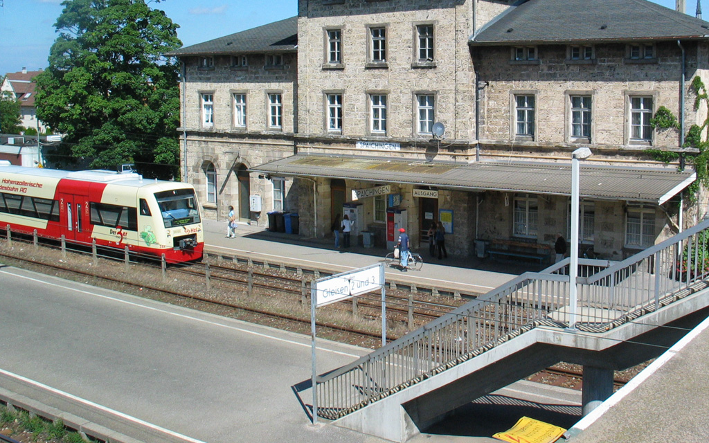 Bahnhof Spaichingen