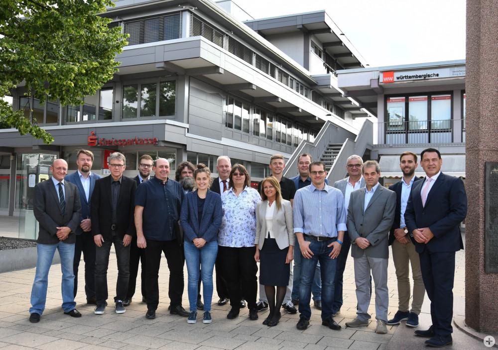 Der 2019 neu gewählte Gemeinderat der Stadt Spaichingen