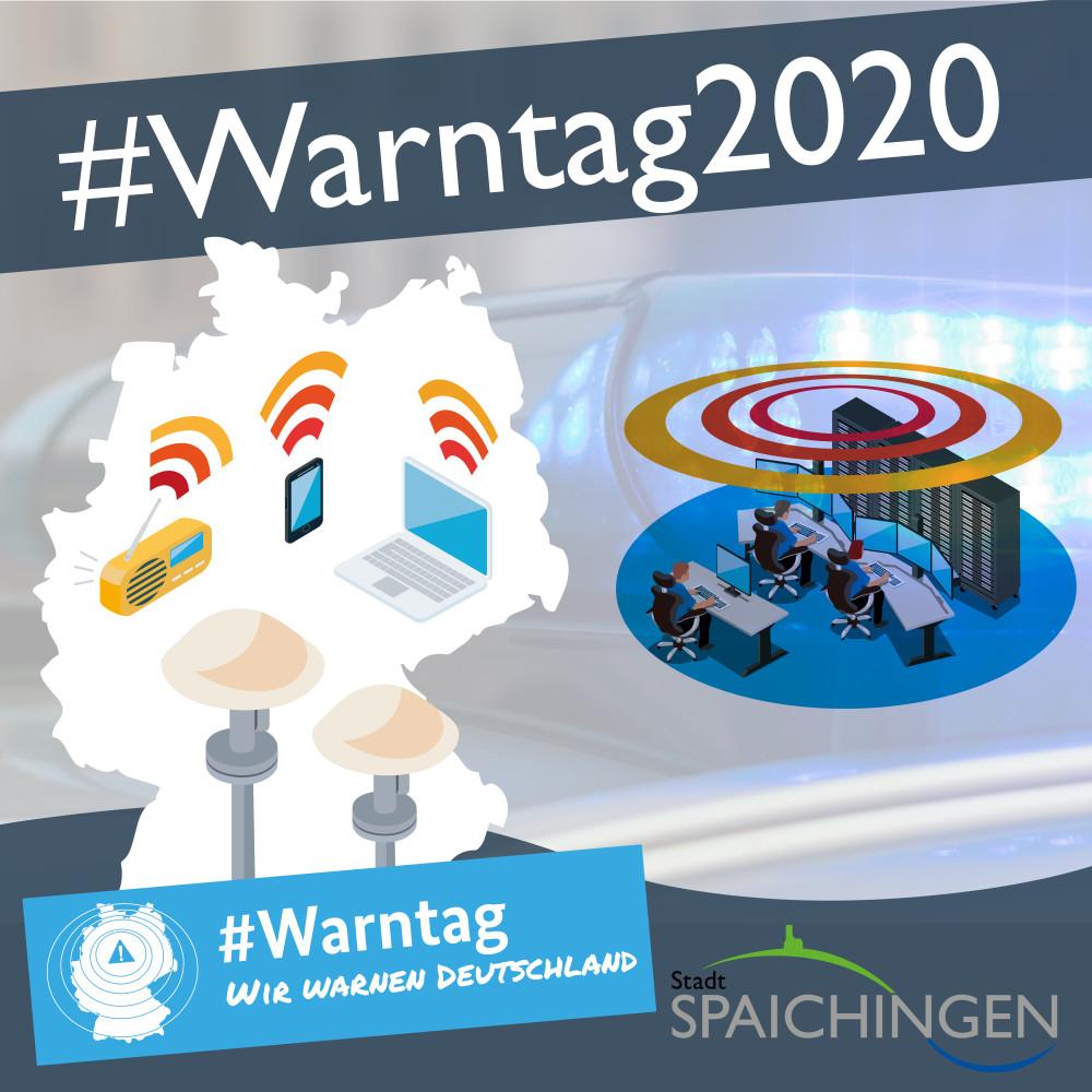Anzeige Warntag 2020