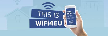 Werbegrafik für Wifi4EU